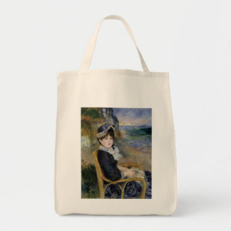 By The Seashore Grocery Tote Bag