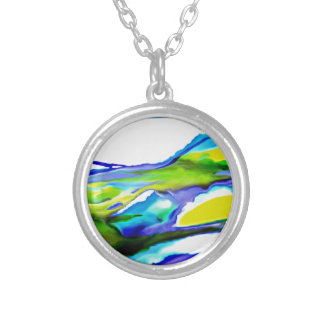 By the Seashore Silver Plated Necklace