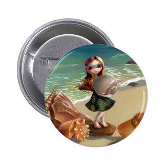 """By the Seaside"" Button"