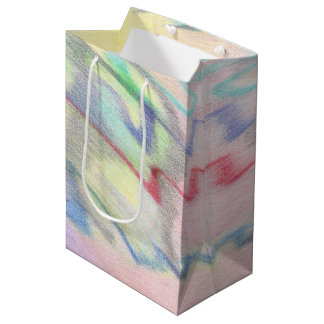 By the Seaside Colorfully Abstract Medium Gift Bag