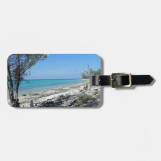 By the seaside - luggage tag