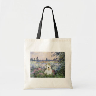 By the Seine - Sealyham Terrier Tote Bag