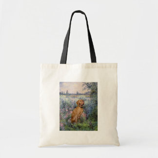 By the Seine - Vizsla 2 Tote Bag