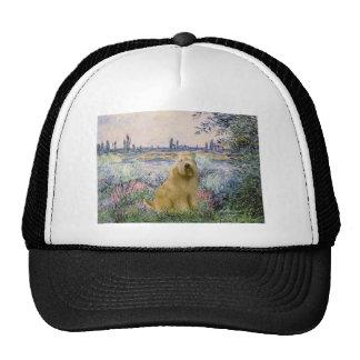By the Seine - Wheaten Terrier 2C Trucker Hat