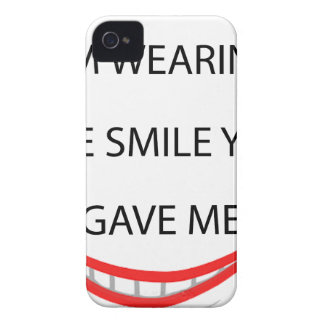 by the  way  i'm  wearing the smile you gave me.pn iPhone 4 covers