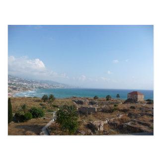 Byblos Lebanon Postcard