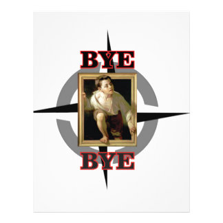 bye bye young lad letterhead template
