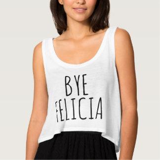 Bye Felicia Crop Top Tank Top