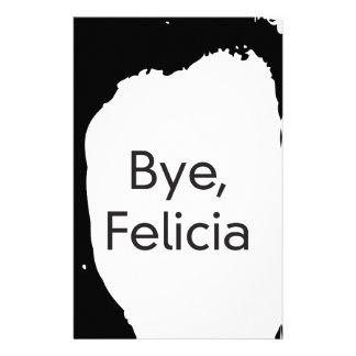 bye felicia stationery