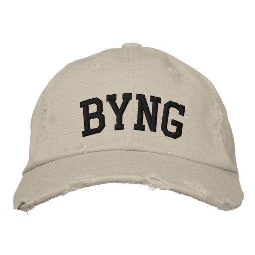 Byng a brodé le chapeau casquette de baseball