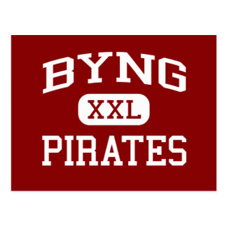 Byng - Pirates - Junior High School - Ada Oklahoma Postcard