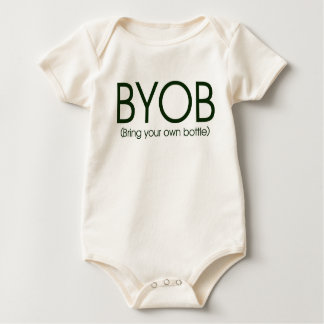 BYOB- Bring Your Own Bottle Baby Bodysuit