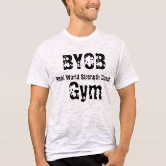BYOBGym, Real World Strength Coach T-Shirt
