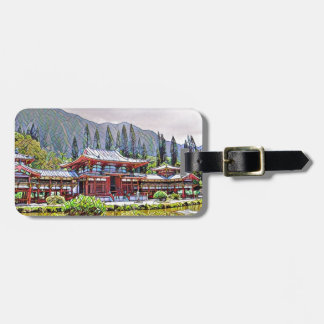 Byodo-In Temple Oahu Luggage Tag