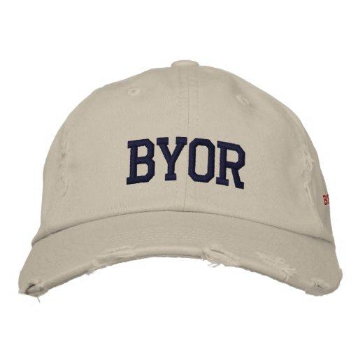 BYOR EMBROIDERED BASEBALL CAP