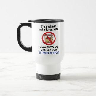 BYOV Winner 2017 - 25 years #3 Travel Mug