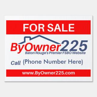 Byowner225 Custom Sign