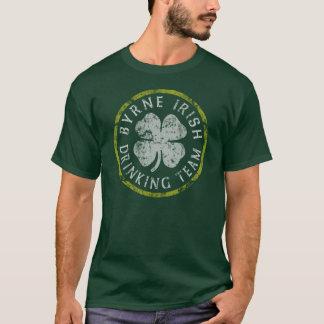 Byrne Irish Family Drinking Team T-Shirt
