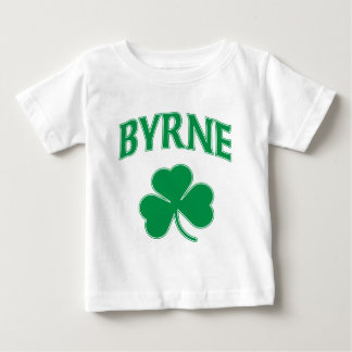 Byrne Irish Shamrock Baby T-Shirt
