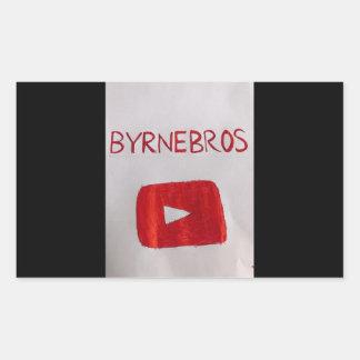 Byrnebros merch sticker