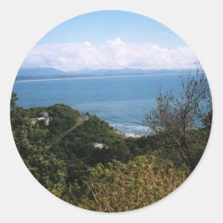 Byron Bay Classic Round Sticker