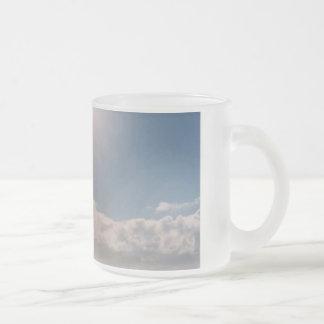 Byron Bay Lighthouse 10 Oz Frosted Glass Coffee Mug