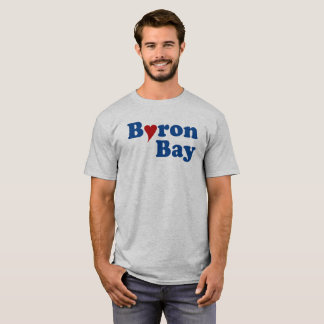 Byron Bay with Heart T-Shirt