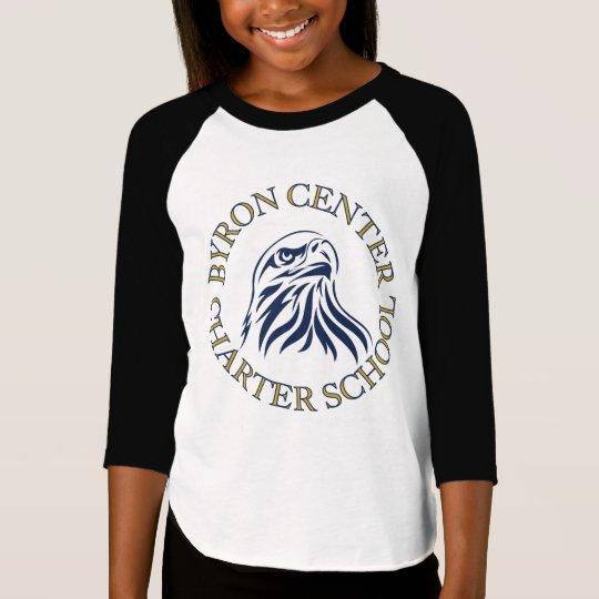 Byron Centre Charter Girl's 3/4 Sleeve Shirt