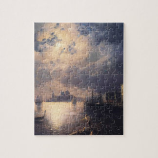 Byron in Venice by Ivan Aivazovsky Jigsaw Puzzle