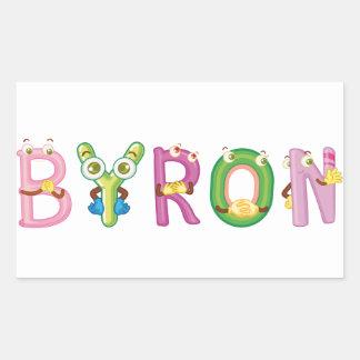 Byron Sticker