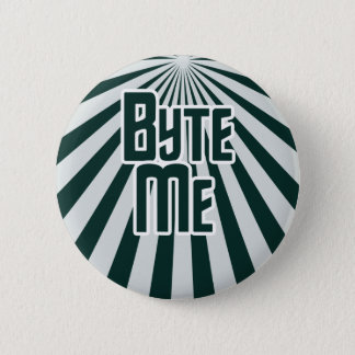 Byte Me Computer Geek 2 Inch Round Button