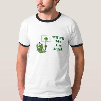 """""""Byte Me I'm Irish"""" - Men's Ringer Tee"""