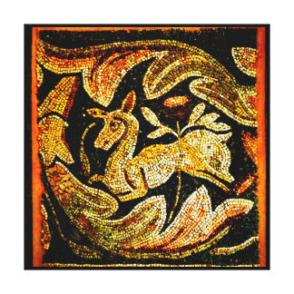 Byzantine Antelope Canvas Print