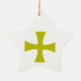 Byzantine Cross of Gold Ornament