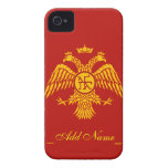 Byzantine Empire Flag iPhone 4 Covers