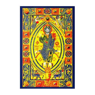 Byzantine folk art Jesus