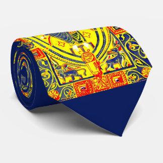 Byzantine folk art Jesus Tie