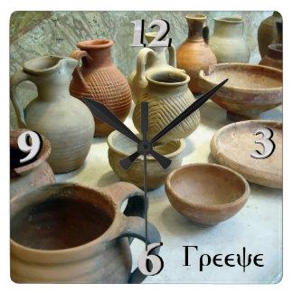 Byzantine Pottery Wallclock