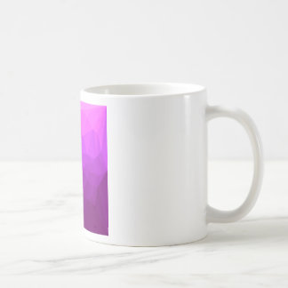 Byzantine Purple Abstract Low Polygon Background Coffee Mug
