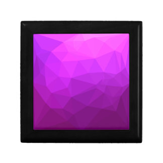 Byzantine Purple Abstract Low Polygon Background Gift Box