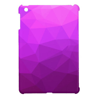 Byzantine Purple Abstract Low Polygon Background iPad Mini Cover