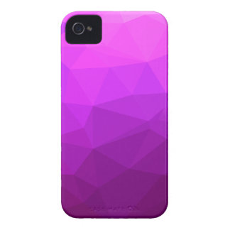 Byzantine Purple Abstract Low Polygon Background iPhone 4 Case