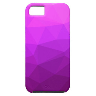 Byzantine Purple Abstract Low Polygon Background iPhone 5 Covers