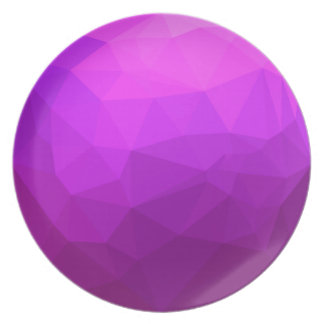Byzantine Purple Abstract Low Polygon Background Plate