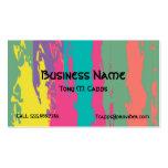 C002 BIZ - Paint splatters design Business Cards