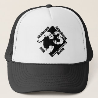 C3 Black Logo Trucker Hat