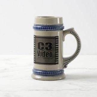 C3Video Beer Stein