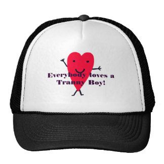 c4, Everybody loves a Tranny Boy! Trucker Hat