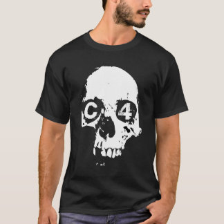 C4 Scooters Skull Shirt