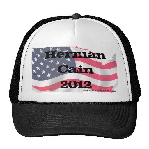 C4C Hat, Herman Cain 2012, www.citizens4cain.com